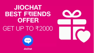 Jiochat app refer and earn