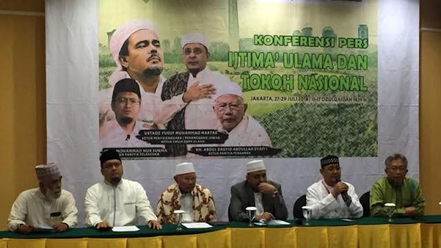 GNPF Gelar Ijtima Ulama Wujudkan 2019 Ganti Presiden