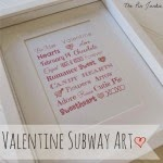 printable valentine subway art