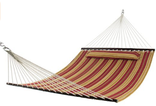 Best Choice Products Hammock Quilted Fabric With Pillow
