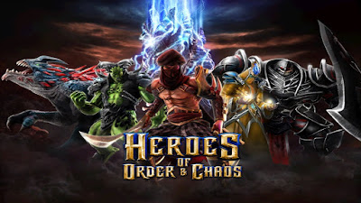 Heroes of Order & Chaos v3.5.2 Mod Apk Terbaru Unlimited Coin