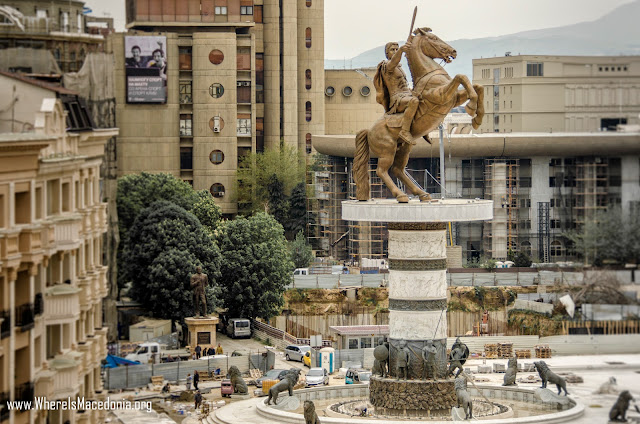 Alexander the Great Monument - Skopje, Macedonia
