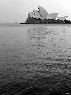 grey overcast waters