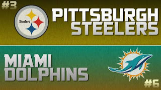 Steelers Dolphins NFL Wild Card Simulation