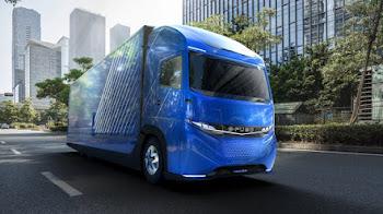 """E-Fuso Vision One """"El camión eléctrico"""""""