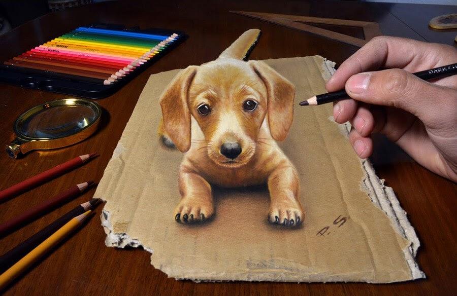 01-A-puppy-in-3D-Stefan-Pabst-3D-Art-www-designstack-co
