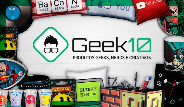 SORTEIO! Concorra a R$ 40,00 em compras na Geek 10