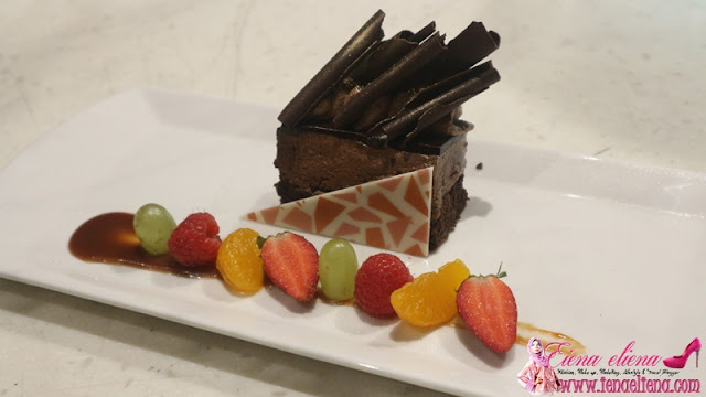 9. Dessert · Chocolate Mud Cake · Butterscotch and Raspberry