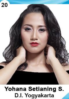 Finalis Puteri Indonesia 2016 Yogyakarta