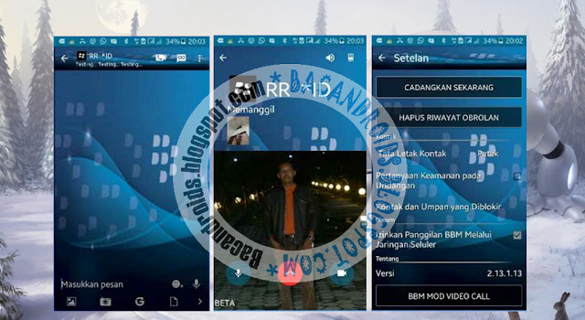 download BBM2 Mod Clone Theme Plus Video Call Terbaru 2.13.1.13