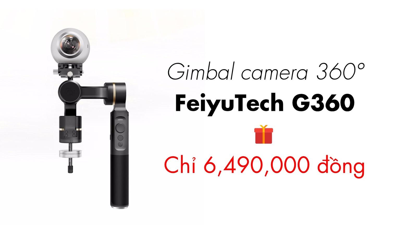 FeiyuTech G360 - gimbal chống rung camera 360 độ