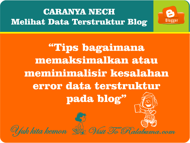 Bagaimana Cara Melihat Data Terstruktur Blog Terkini