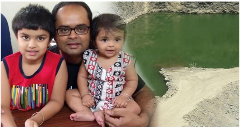 Ayah Ini Menyelamatkan Anaknya yang Tenggelam