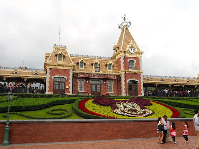 Main Street USA train station | Disneyland Hong Kong
