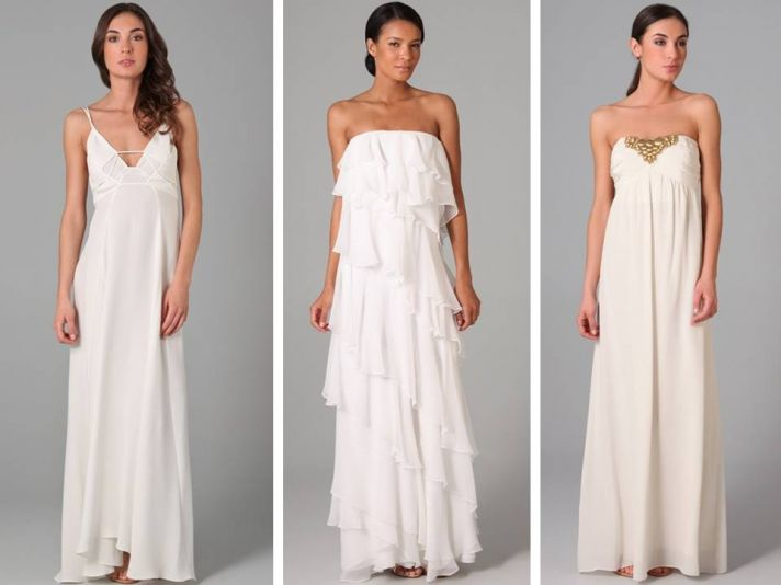 Casual Wedding Dresses For Outdoor Weddings