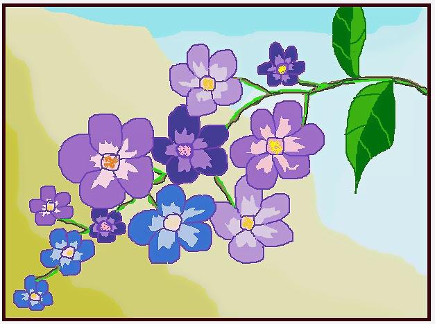 Alusius Kristomo Cara Melukis Menggambar Bunga