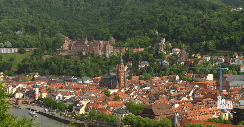 Fairytale view of Heidelberg, Germany
