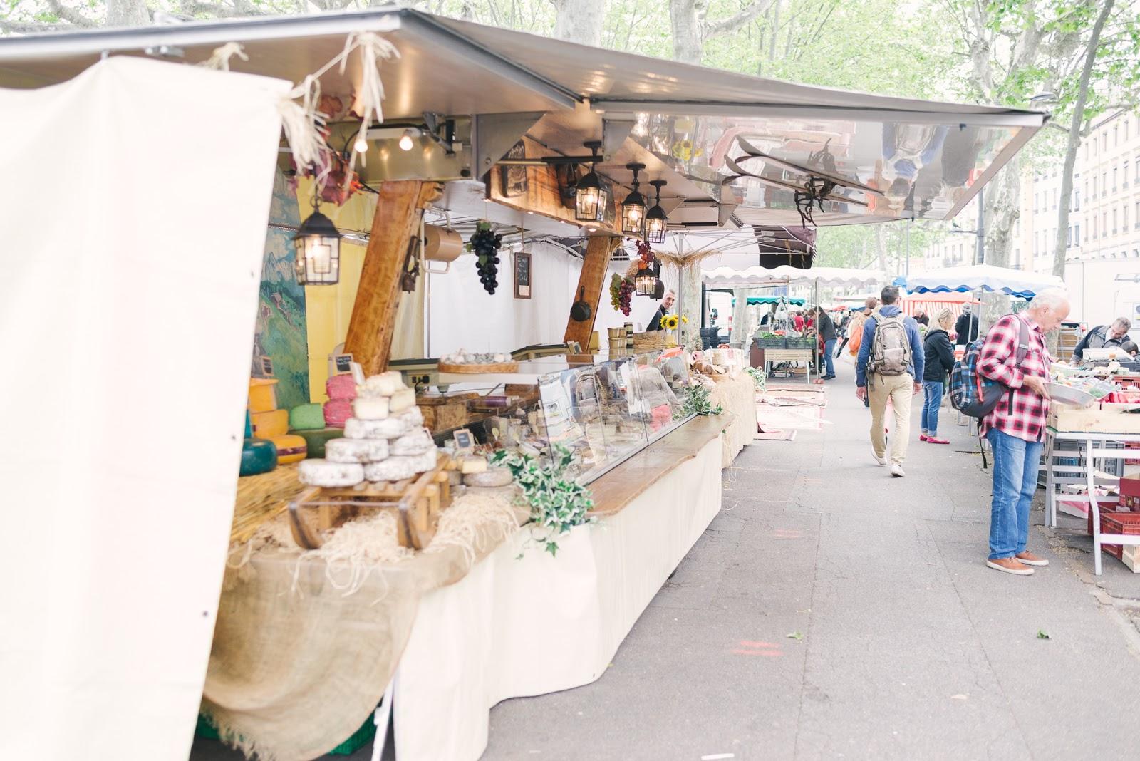 Alex Good-Beautyosaurus Lex-Travel-Farmers Market-France-Lyon-Spring-Marché Saint-Antoine Lyon, France