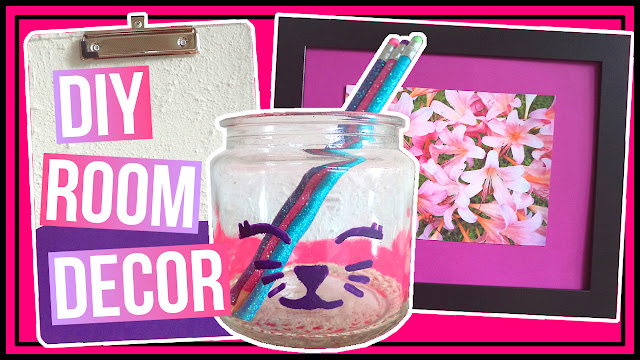 3 Simple DIY Cute Desk & Room Decor Ideas
