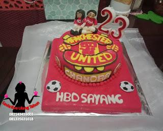 Harga kue tart Manchester united