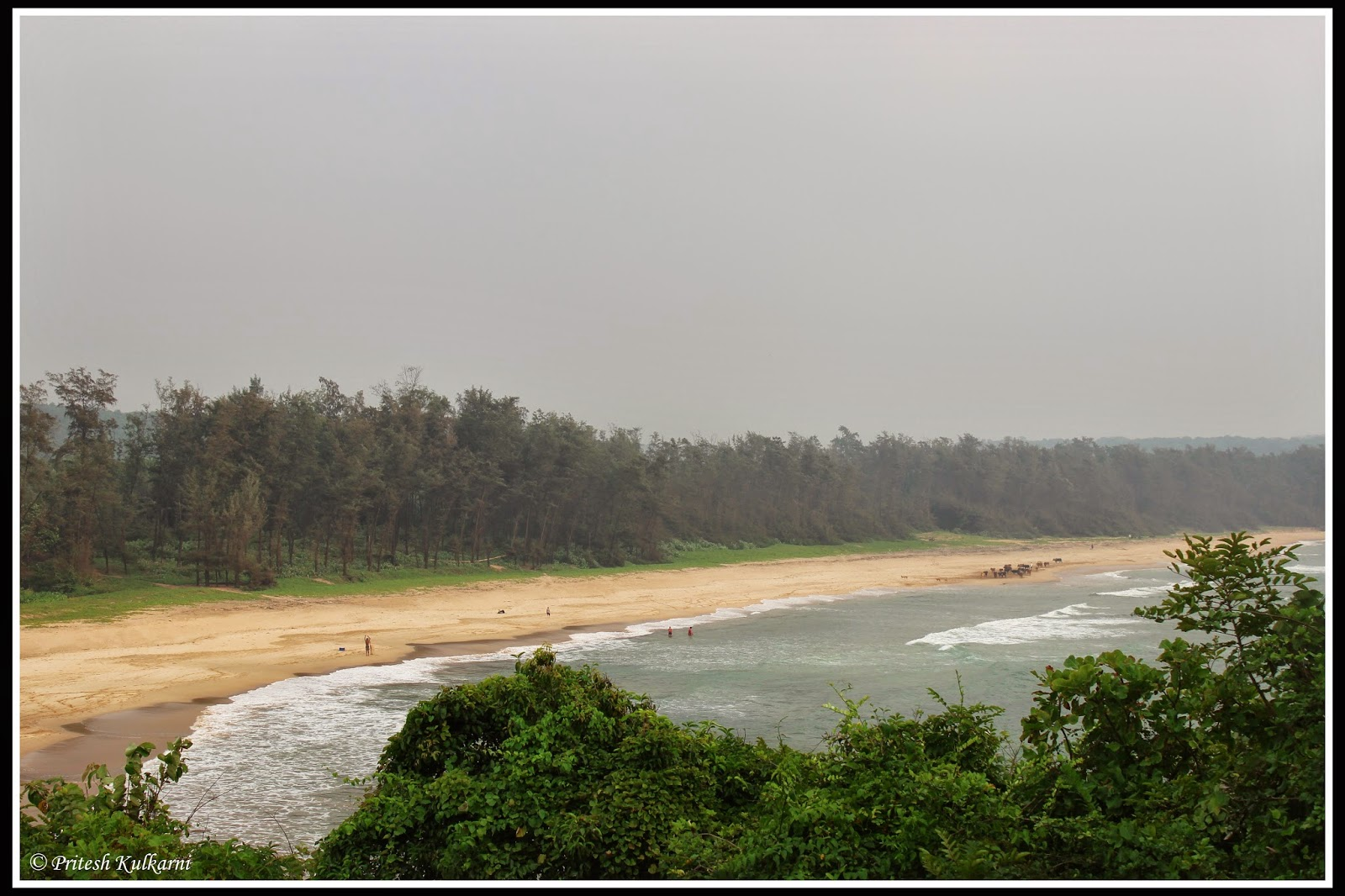 GaneshGule beach top view