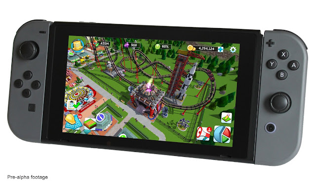 RollerCoaster Tycoon® Launches Equity-Based Crowdfunding Campaign to Bring New Entry in the Acclaimed Franchise to the Nintendo Switch™