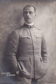 Giorgio Carlo Calvi of Bergolo, who was married to Iolanda in 1923