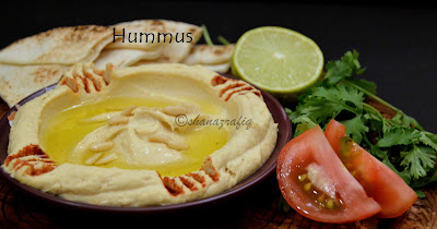Hummus ~ Chickpea Dip ~ Arabic Dip