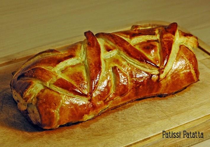 recette de filet mignon feuilleté, recette de filet mignon en croute, puff pork fillet, recipe french porc