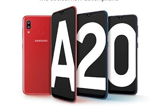 Galaxy A20 launched in India, know it's specifications