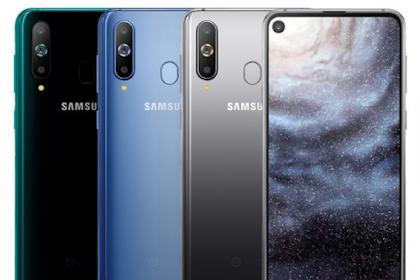 Samsung Galaxy A8s Resmi Dengan Layar Infinity-O Dengan Kamera Lubang Pons