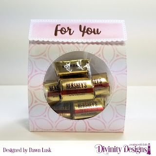 Divinity Designs Custom Die: Festive Favors, Mixed Media Stencil: Petals