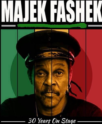 majek fashek 30 years on stage