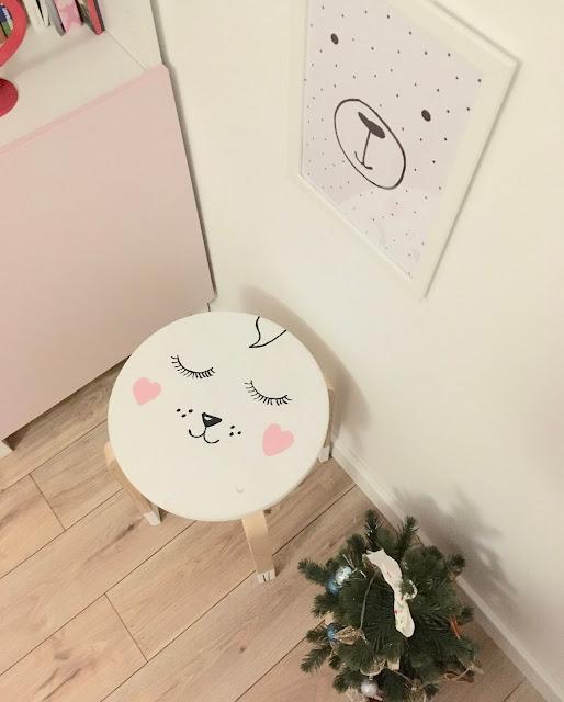 DIY desiegnerskie krzesło do pokoju dziecięcego