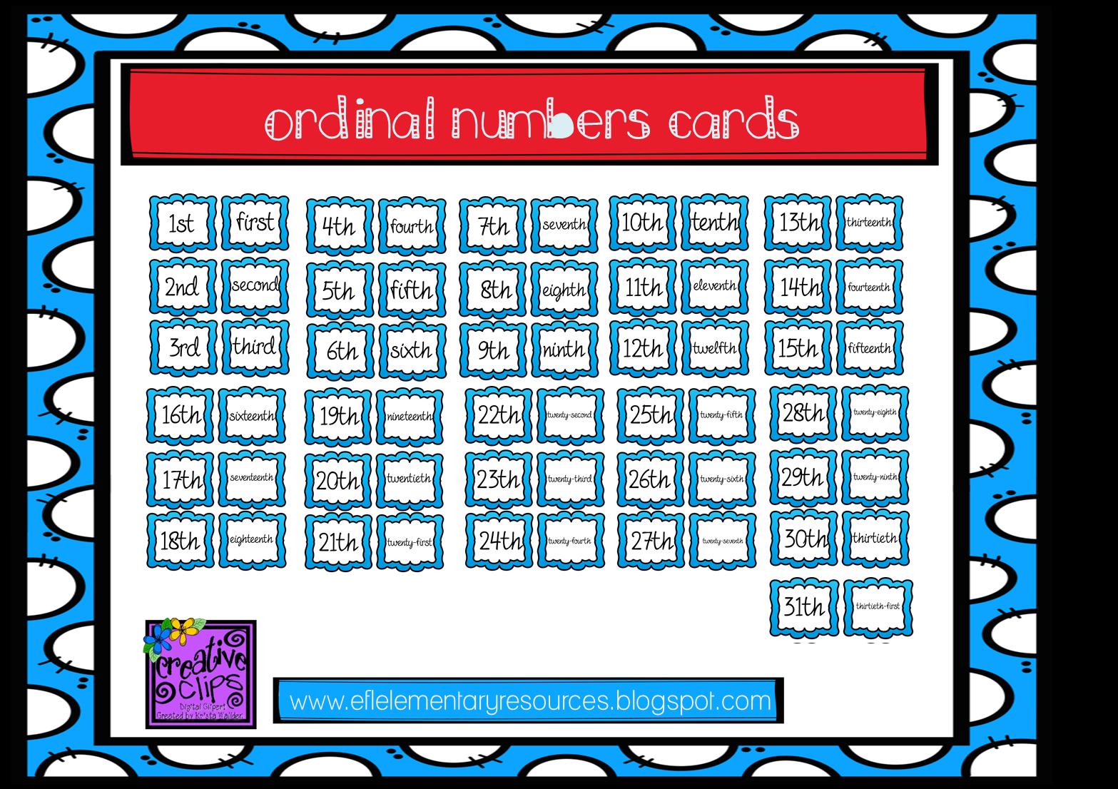 Efl Elementary Teachers Calendar Days And Months