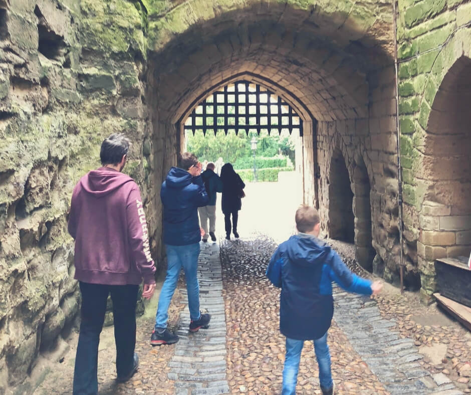 The Christmas Battles Of Mum | Taking the boys out to Warwick Castle, something we save for later in the year.