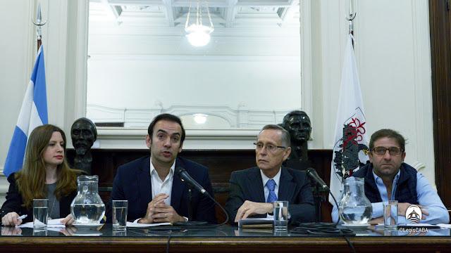 Lanzamiento del Programa en Asuntos Internacionales en la Legislatura porteña, junto con el CARI