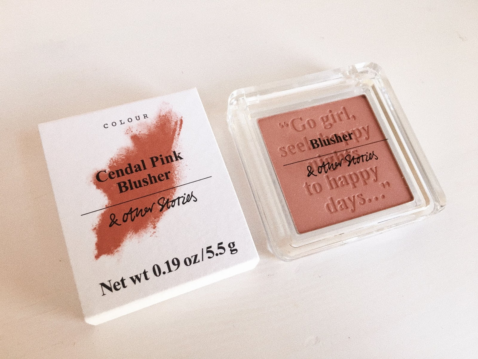 & Other Stories Cendal Pink Blusher Review