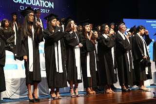 21st Graduation Day organized by Canadian International School (CIS) Bangalore