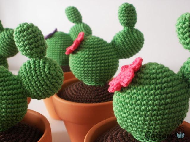Cactus Amigurumi: 10 Patrones Gratis - Arte Friki