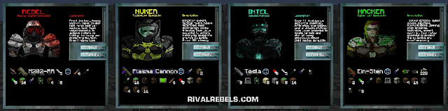 Rival Rebels Classes