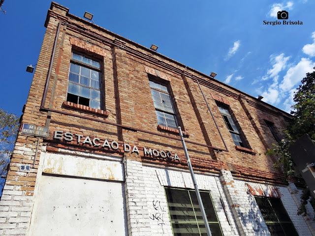 Vista da fachada das Antigas Officinas Casa Vanorden - Mooca - São Paulo