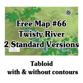 Free Map #66: Twisty River