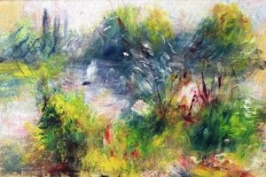 Paysages bords de Seine - Renoir