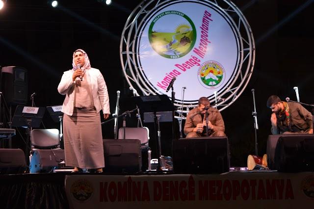 Bozova Belediye Eş Başkanları Halfeti'de