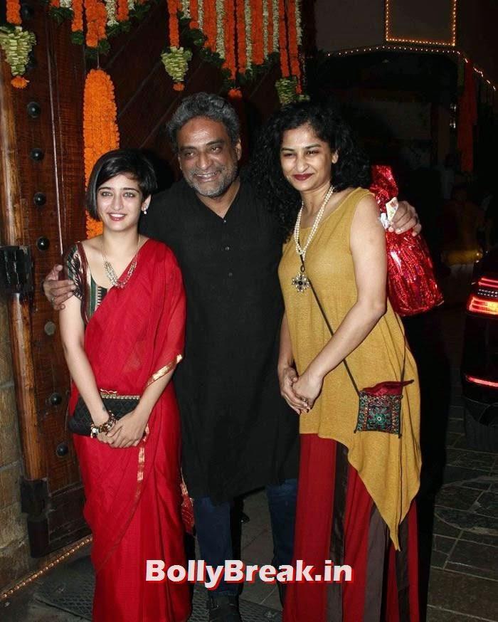 Akshara Haasan, R Balki, Gauri Shinde, Photos from Amitabh Bachchan's Diwali Bash 2014