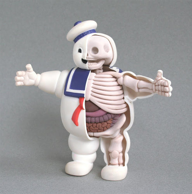 dissected stay puft marshmallow man