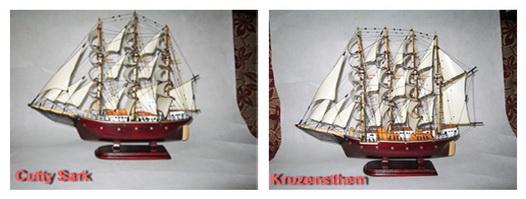 Miniatur kapal Layar James Cook, Miniatur Kapal Layar Cutty Shark, Miniatur kapal Laut , Miniatur kapal kruzenthem