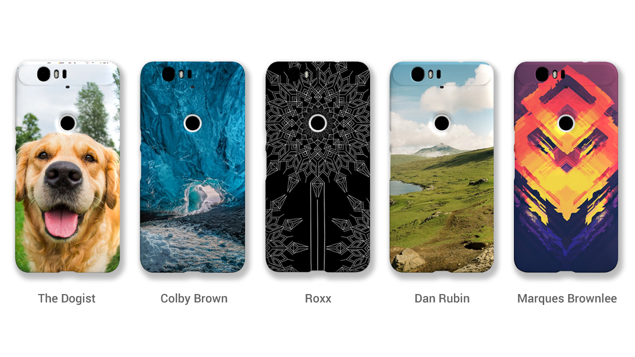 Google Introduces Customizable Nexus Phone Cases