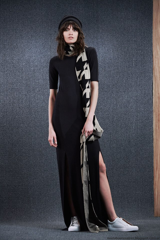 Maxivestidos moda invierno 2016 Paula Cahen D'Anvers. Moda 2016.